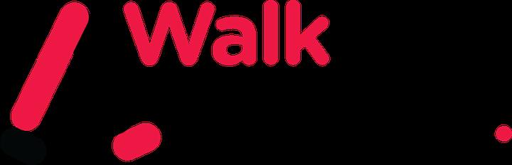walk with me typographic